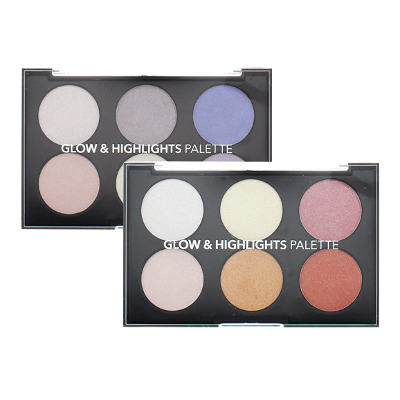 Glow & Highlights palette