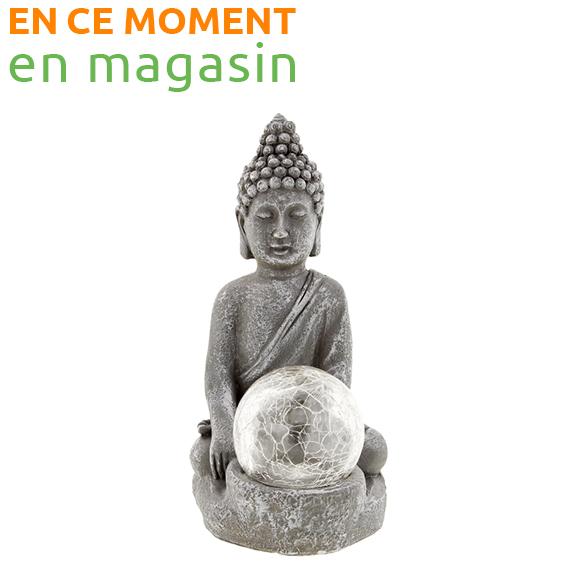 Statuette de jardin Bouddha