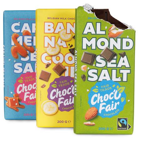 Tablette de chocolatChoc'O Fair