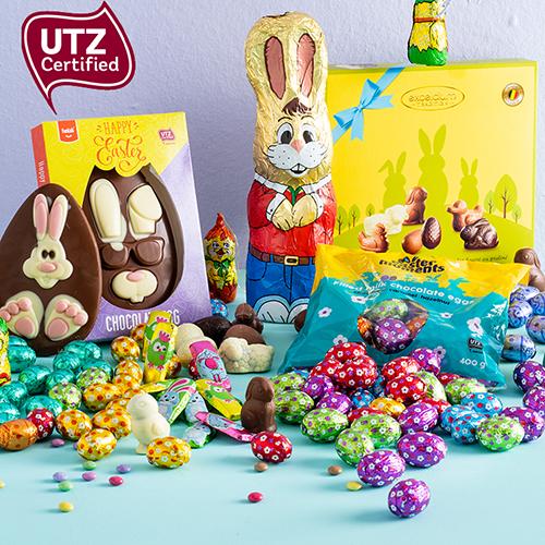 Régalez-vous de nos chocolats UTZ