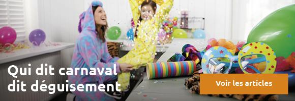 Banner Carnaval kostuum FR oranje CTA